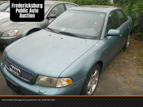 1999 Audi A4 for sale at FPAA in Fredericksburg VA