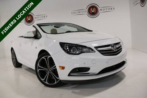 2017 Buick Cascada for sale at Unlimited Motors in Fishers IN