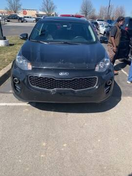 2017 Kia Sportage for sale at COYLE GM - COYLE NISSAN - New Inventory in Clarksville IN