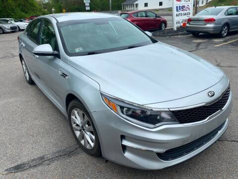 2016 Kia Optima for sale at USA Auto Sales in Leominster MA