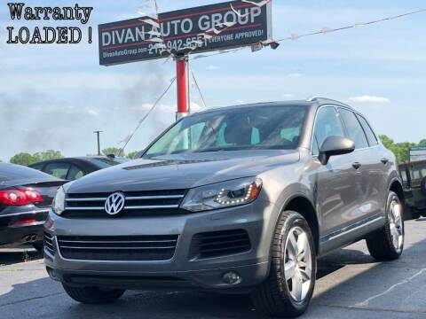 2013 Volkswagen Touareg for sale at Divan Auto Group in Feasterville Trevose PA