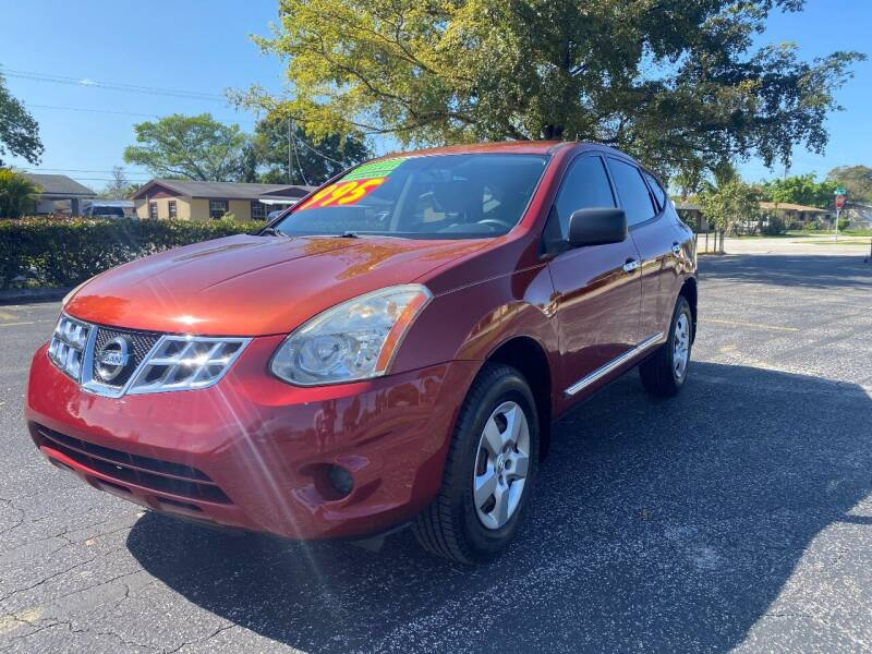 2013 Nissan Rogue for sale at Lamberti Auto Collection in Plantation FL