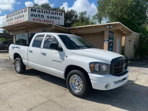 2007 Dodge Ram Pickup 1500 for sale at Mainland Auto Sales Inc in Daytona Beach FL