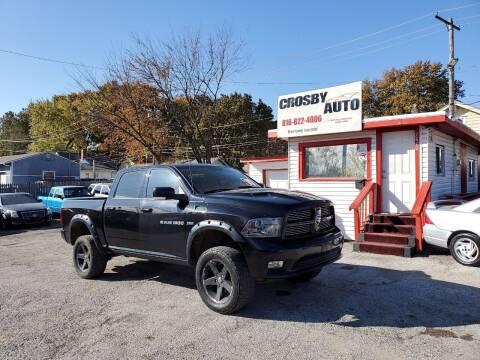 2012 RAM Ram Pickup 1500 for sale at Crosby Auto LLC in Kansas City MO