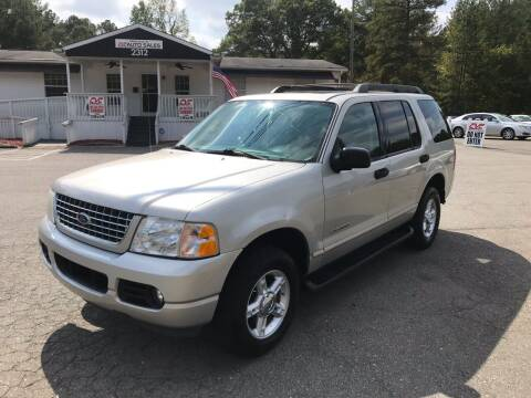 2005 Ford Explorer for sale at CVC AUTO SALES in Durham NC