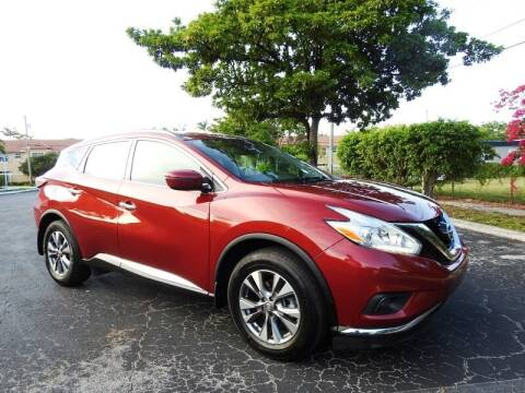 2017 Nissan Murano for sale at SUPER DEAL MOTORS 441 in Hollywood FL