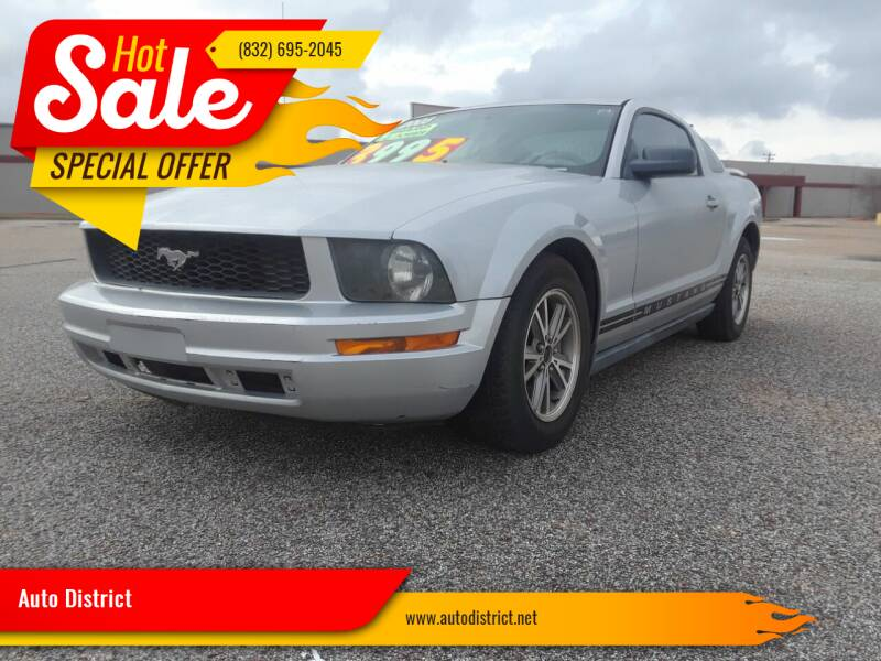 2005 Ford Mustang for sale at Auto District in Baytown TX