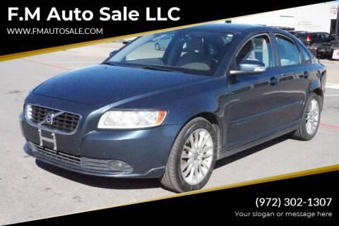 2010 Volvo S40 for sale at F.M Auto Sale LLC in Dallas TX