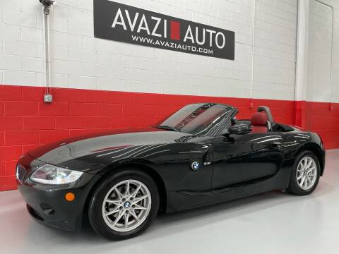 2005 BMW Z4 for sale at AVAZI AUTO GROUP LLC in Gaithersburg MD