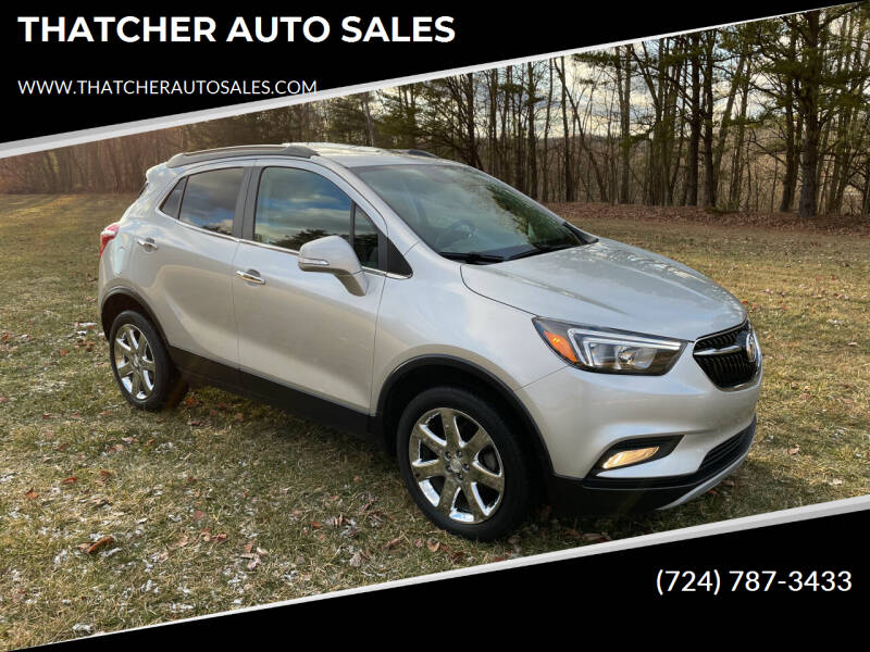 2018 Buick Encore for sale at THATCHER AUTO SALES in Export PA