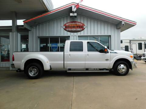 2011 Ford F-350 Super Duty for sale at Motorsports Unlimited in McAlester OK