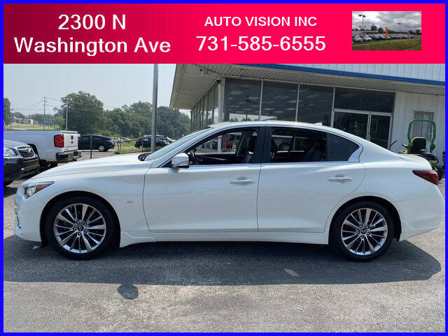 2018 Infiniti Q50 for sale at Auto Vision Inc. in Brownsville TN