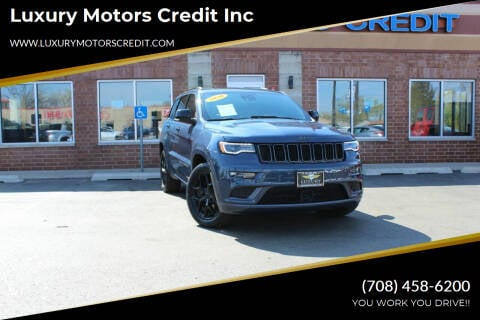2020 Jeep Grand Cherokee for sale at Luxury Motors Credit Inc in Bridgeview IL