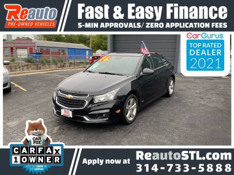 2016 Chevrolet Cruze Limited for sale at Reauto in Saint Louis MO