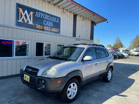 2005 Hyundai Tucson for sale at M & A Affordable Cars in Vancouver WA