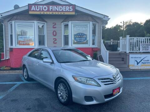 2011 Toyota Camry for sale at Auto Finders Unlimited LLC in Vineland NJ