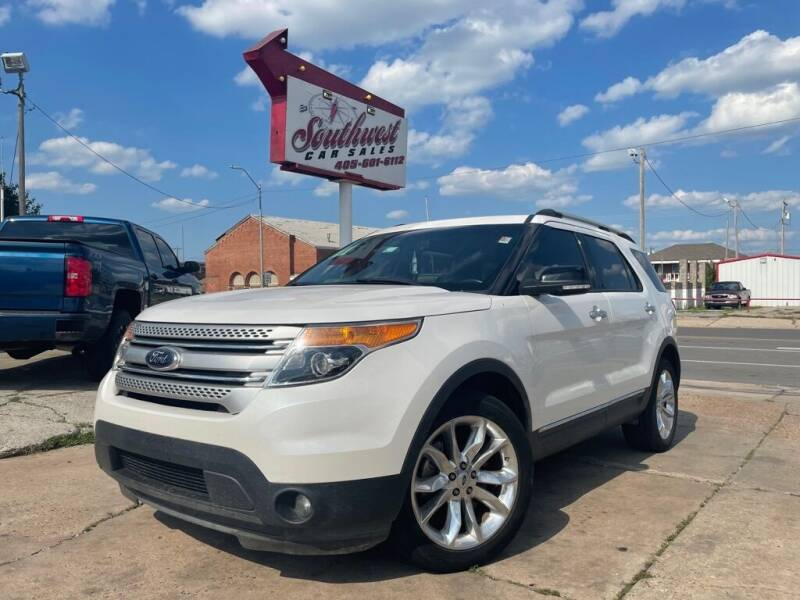 2014 Ford Explorer for sale at Southwest Car Sales in Oklahoma City OK