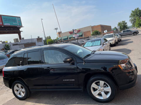 2016 Jeep Compass for sale at Sanaa Auto Sales LLC in Denver CO