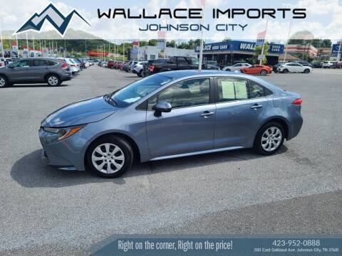 2020 Toyota Corolla for sale at WALLACE IMPORTS OF JOHNSON CITY in Johnson City TN