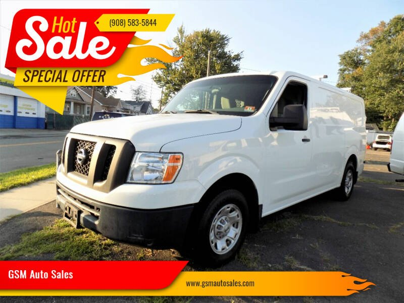 2017 Nissan NV Cargo for sale at GSM Auto Sales in Linden NJ