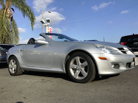 2007 Mercedes-Benz SLK for sale at CARSTER in Huntington Beach CA