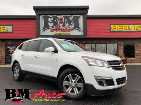 2017 Chevrolet Traverse for sale at B & M Auto Sales Inc. in Oak Forest IL