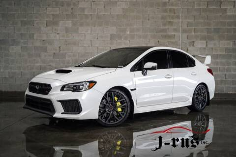 2018 Subaru WRX for sale at J-Rus Inc. in Macomb MI