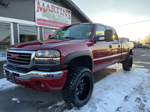 2007 GMC Sierra 3500 Classic for sale at Martins Auto Sales in Shelbyville KY
