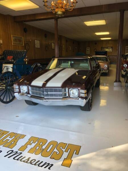 1971 Chevrolet Chevelle for sale at Jack Frost Auto Museum in Washington MI