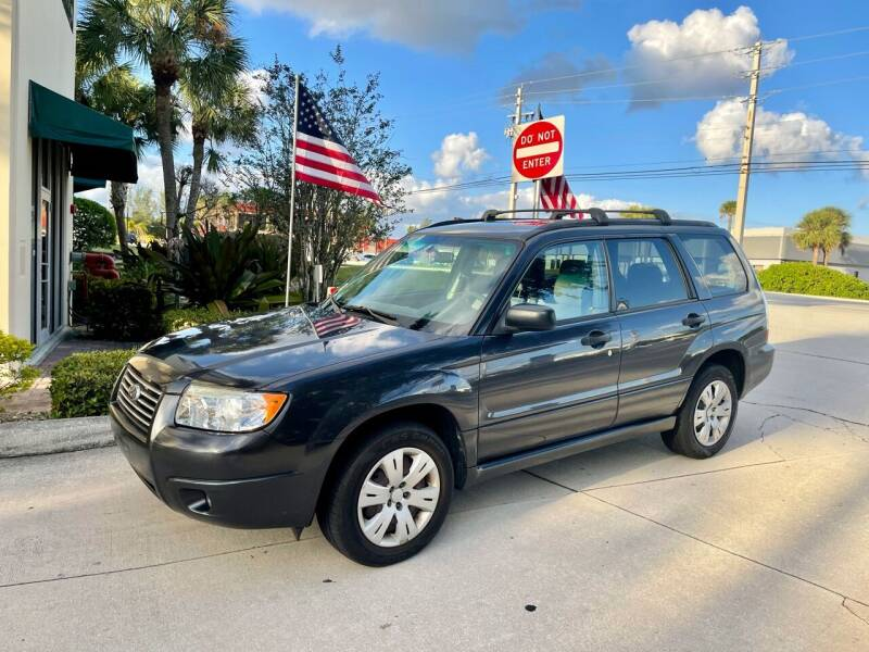 2008 Subaru Forester for sale at AUTOSPORT MOTORS in Lake Park FL