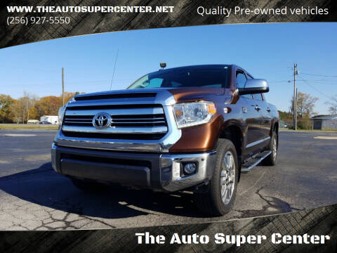 2016 Toyota Tundra for sale at The Auto Super Center in Centre AL