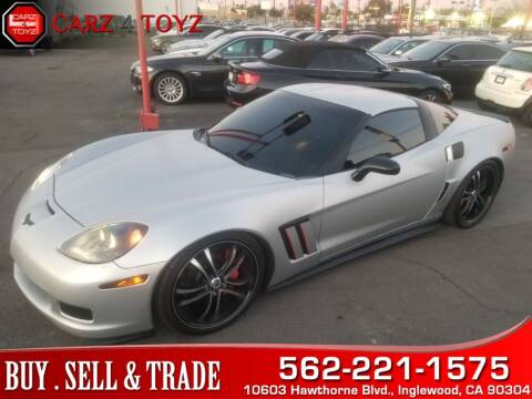 2013 Chevrolet Corvette for sale at Carz 4 Toyz in Inglewood CA