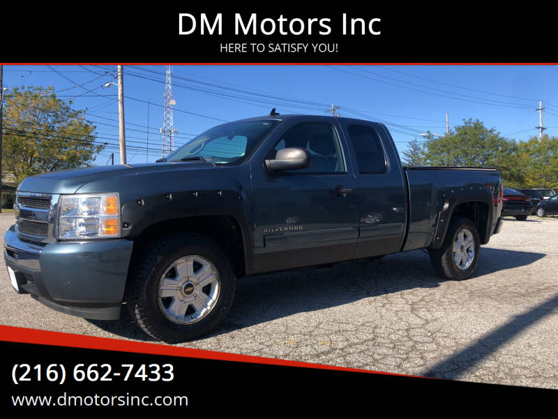 2010 Chevrolet Silverado 1500 for sale at DM Motors Inc in Maple Heights OH