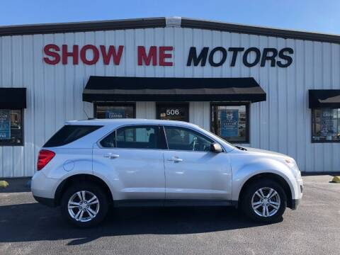 2015 Chevrolet Equinox for sale at SHOW ME MOTORS in Cape Girardeau MO