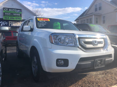 2011 Honda Pilot for sale at Connecticut Auto Wholesalers in Torrington CT
