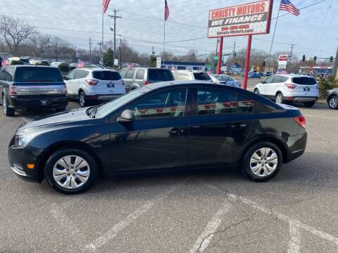 2014 Chevrolet Cruze for sale at Christy Motors in Crystal MN