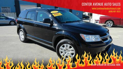 2017 Dodge Journey for sale at CENTER AVENUE AUTO SALES in Brodhead WI