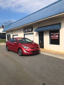 2014 Hyundai Elantra for sale at BRIDGEPORT MOTORS in Morganton NC