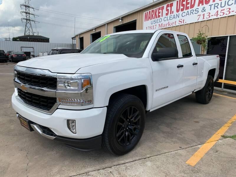2018 Chevrolet Silverado 1500 for sale at Market Street Auto Sales INC in Houston TX