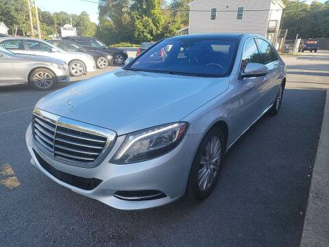 2014 Mercedes-Benz S-Class for sale at Top Quality Auto Sales in Westport MA