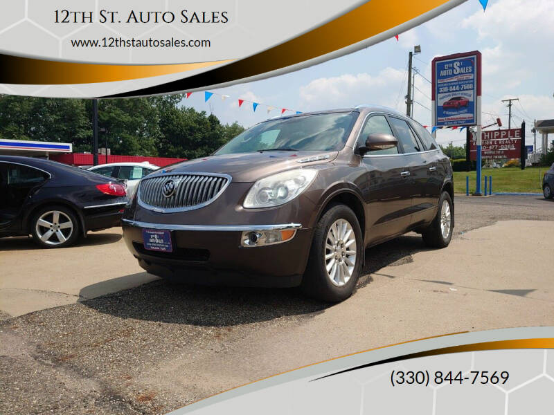 2012 Buick Enclave for sale at 12th St. Auto Sales in Canton OH