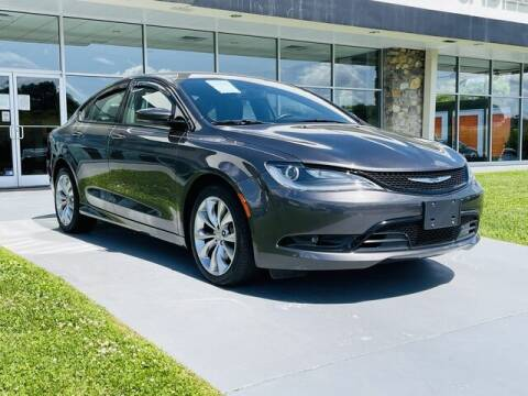 2016 Chrysler 200 for sale at RUSTY WALLACE CADILLAC GMC KIA in Morristown TN