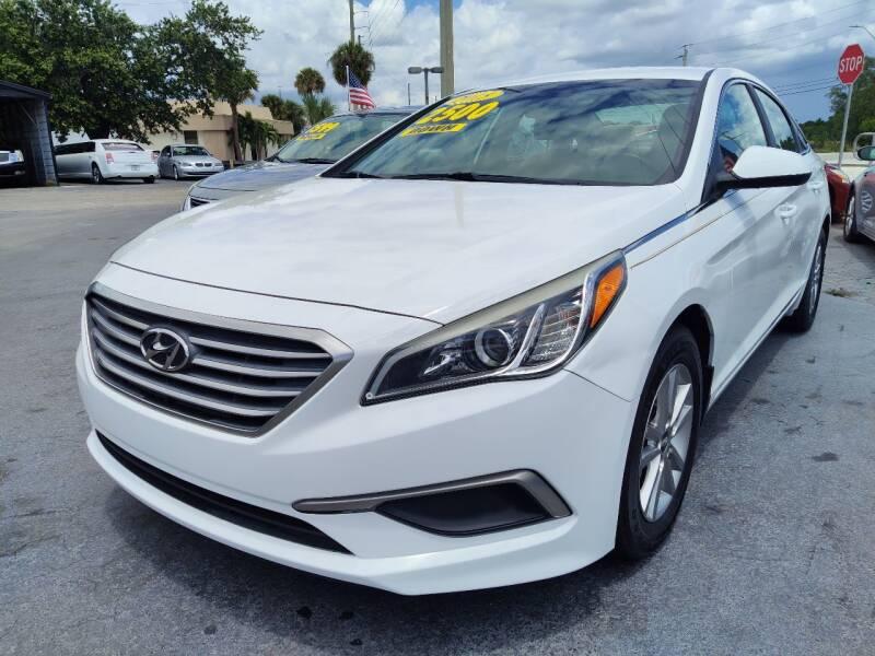 2017 Hyundai Sonata for sale at Celebrity Auto Sales in Port Saint Lucie FL