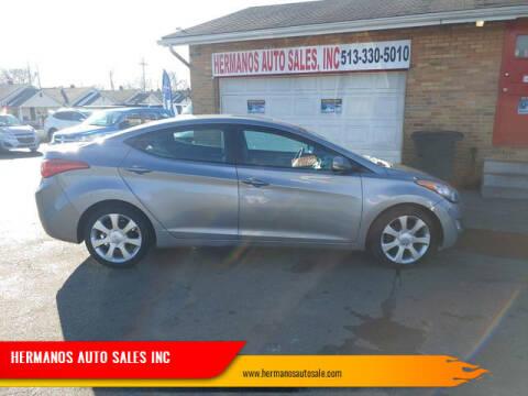 2012 Hyundai Elantra for sale at HERMANOS AUTO SALES INC in Hamilton OH