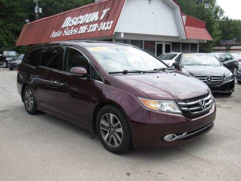 2014 Honda Odyssey for sale at Discount Auto Sales in Pell City AL