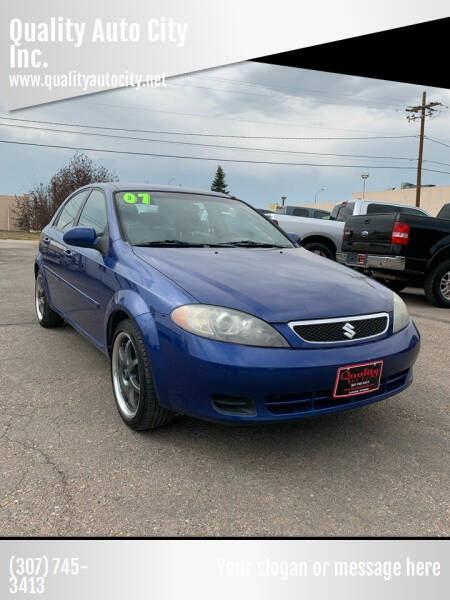 2007 Suzuki Reno for sale at Quality Auto City Inc. in Laramie WY
