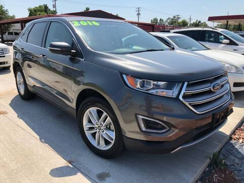 2016 Ford Edge for sale at Angels Auto Sales in Great Bend KS