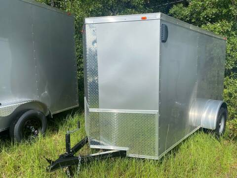 2021 5x10 Single Axle Enclosed Cargo Trailer for sale at Direct Connect Cargo in Tifton GA