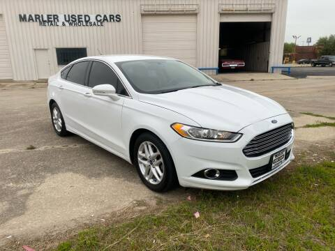 2014 Ford Fusion for sale at MARLER USED CARS in Gainesville TX