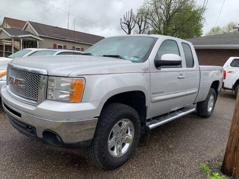 2010 GMC Sierra 1500 for sale at MYERS PRE OWNED AUTOS & POWERSPORTS in Paden City WV